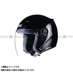 LEAD工業 ジェットヘルメット STRAX SJ-8 ジェットヘルメット カラー:ブラック サイズ...