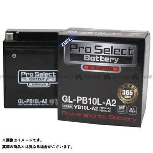 Pro Select Battery 汎用 バッテリー関連パーツ プロセレクトバッテリー GL-PB10L-A2(YB10L-A2 互換)(液入)|st-ride