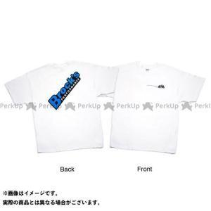 S、M、L、XLサイズがあります。アメリカサイズです。白ベースで青ロゴと黒ベースで青ロゴの2種類あり...