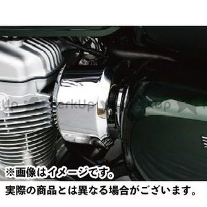 【無料雑誌付き】PLOT W800 インジェクション関連パーツ インジェクションカバー(メッキ) プロト|st-ride