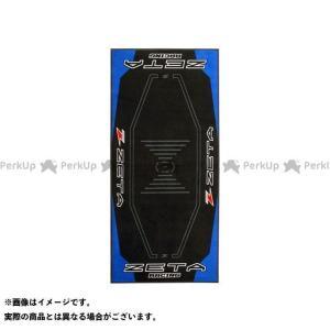 【無料雑誌付き】DIRTFREAK モトクロス雑貨 レーシングフロアマット カラー:ブルー/ブラック ダートフリーク st-ride