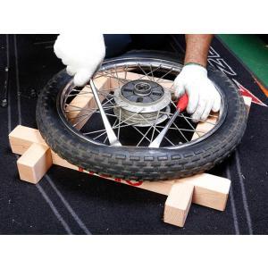 BikeBros. 【モトメンセレクション】 タイヤ交換用井桁(イゲタ)コンパクト仕様 14〜21インチ対応|st-ride