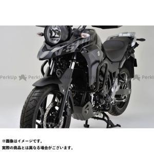 【無料雑誌付き】DAYTONA Vストローム250 エンジンガード パイプエンジンガード Upper(マットブラック) デイトナ st-ride