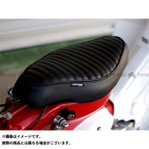 【無料雑誌付き】KEPSPEED スーパーカブ50 シート関連パーツ カブ用 タックロール カスタムシート(ブラック) ケップスピード st-ride