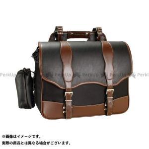 【無料雑誌付き】DEGNER ツーリング用バッグ NB-100 ナイロンサドルバッグ カラー:ブラウン デグナー st-ride