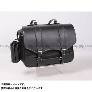 【無料雑誌付き】DEGNER ツーリング用バッグ NB-100 ナイロンサドルバッグ カラー:ブラック デグナー st-ride