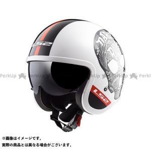 エルエスツー ジェットヘルメット アウトレット品 SPITFIRE(ホワイトブラック) XXL  LS2 HELMETS|st-ride