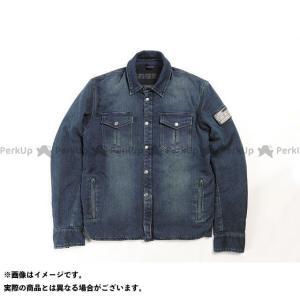 【無料雑誌付き】DEGNER ジャケット 2020春夏モデル 20SJ-6 ニットデニムシャツジャケット(ネイビー) サイズ:L デグナー|st-ride
