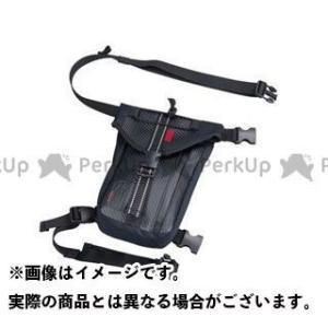 KOMINE ツーリング用バッグ SA-211 ウォータープルーフレッグバッグ(ブラック)   コミ...