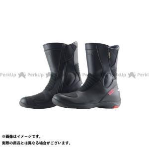 KOMINE ライディングブーツ BK-070 GORE-TEX(R)ショートブーツ-グランデ(ブラ...