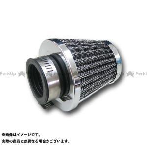 【無料雑誌付き】MADMAX エアクリーナー パワーフィルター ラウンドテーパータイプ 35mm 汎用 メッキ マッドマックス|st-ride