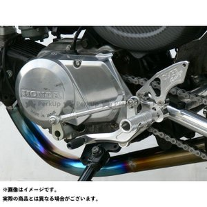 OVER RACING PROJECTS バックステップ 3ポジション ディスク MONKEY st-ride