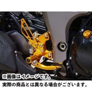 BABYFACE バックステップキット カラー:ゴールド Ninja 1000 Z1000 st-ride