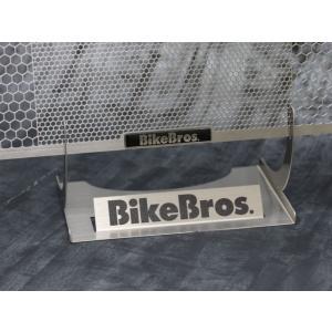 BikeBros. HORNET 250用 ラジエターガード(黒エンブレム) HORNET250