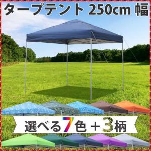 【送料無料】タープテントST250【シルバーコーティング 風...