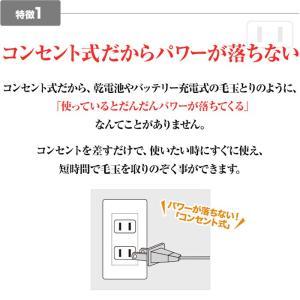 毛玉取り コンセント式 アドバンス ADVANCE 電動 毛玉クリーナー 毛玉取り器 毛玉とり けだまとり PR-01|stacy|06