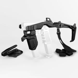 リカバータクティカル グロック用 スタビライザーキットセットBK 20/20H  & MG9マガジンホルダー   Recover Tactical GLOCK用|stad