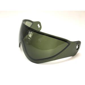 WARQヘルメット用 スぺアスクリーン スモーク|stad