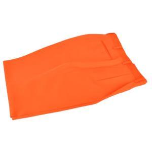 『ツータックパンツ(ズボン・スラックス)』(橙・オレンジ)(...