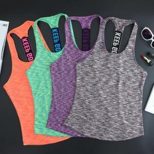 ヨガウェアトップスタンクトップ ジムフィットネス スポーツ オシャレレディース 吸汗Tシャツ 速乾 トレーニング伸縮性マラソンyg-041