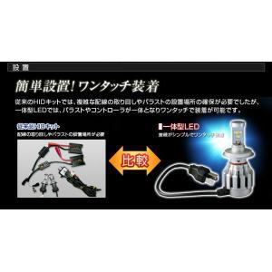 高出力LEDヘッドライト H4 Hi/Low切替『シルバーホーミングX』6000K 30W 3600Lm|stakeholder|03