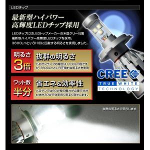 高出力LEDヘッドライト H4 Hi/Low切替『シルバーホーミングX』6000K 30W 3600Lm|stakeholder|04
