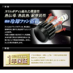 高出力LEDヘッドライト H8/H11/H16/HB4(9006)  30W 3600Lm 『ブラックホーミングX』|stakeholder|04