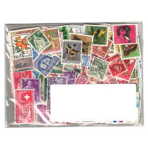 スイス切手 500種 500枚(重複なし)詰め合わせ|stamp-coin-ebisu
