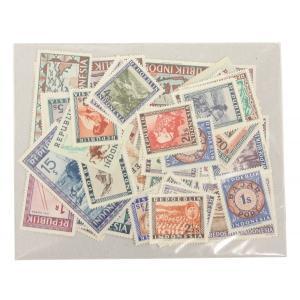 【未使用】インドネシア(ほぼウィーン版)切手 50種 50枚 stamp-coin-ebisu