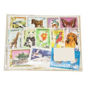 【未使用】モンゴル切手 500種 500枚(重複なし) 大型中心 stamp-coin-ebisu