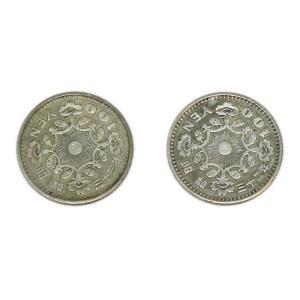 鳳凰100円銀貨 昭和32年・33年 2枚セット! 銀を1枚あたり約2.88g含有! 将来有望!|stamp-coin-ebisu