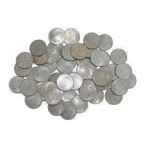 【日本万国博覧会記念】100円白銅貨 昭和45年 バラ50枚セット(状態混合)【記念硬貨】|stamp-coin-ebisu