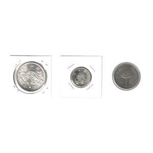 1964年東京オリンピック記念銀貨(1000円+100円)と札幌オリンピック記念硬貨100円セット|stamp-coin-ebisu