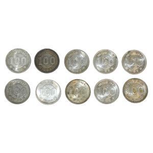 東京オリンピック 東京五輪 100円銀貨 10枚セット 昭和39年  銀を1枚あたり約2.88g 10枚で約28.8g含有!将来有望!|stamp-coin-ebisu