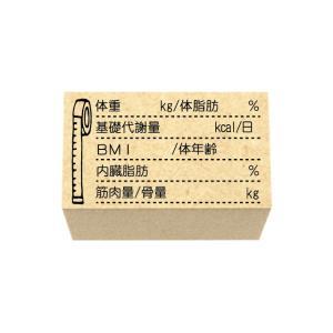 ダイエットスタンプ 体調管理 ダイエット 手帳 日記にbody size sha47 ほぼ日 手帳ス...