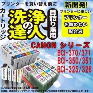 洗浄の達人  キヤノンプリンター目詰まりBCI-351+350/6MPヘッドクリーニング洗浄カートリッジ 351XLBK/351XLC/351XLM/351XLY|standardcolor