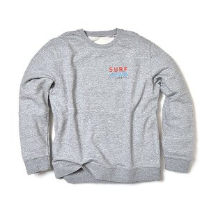 VOLN/SURF VINTAGE LINE Crew Sweat /GRAY|standardstore