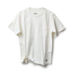 VOLN × CRAFTSMAN CREW NECK POCKET T-SHIRT(OFF WHITE)|standardstore