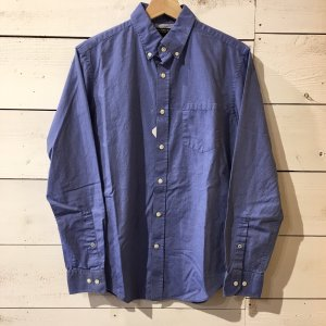 BANANA REPUBLIC / コットンBDシャツ ブルー S / USED|standardstore