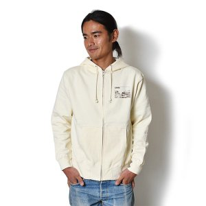 Andy Davis Designs / Full Zip Parka / Natural|standardstore