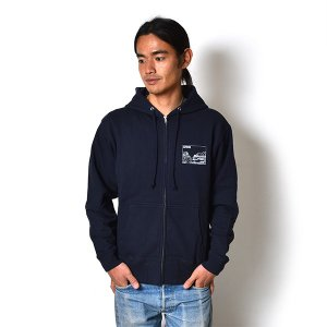 Andy Davis Designs / Full Zip Parka / Navy|standardstore