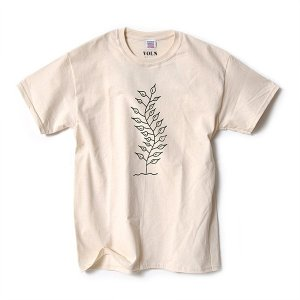 ARENAL × VOLN T-SHIRT A / NATURAL|standardstore