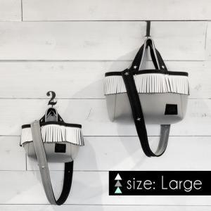 [限定数販売・large] LOZZ SANDRA × STANDARD STORE W ネームトート|standardstore