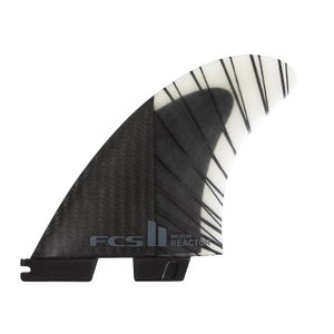 FCS2 フィン エフシーエス2 REACTOR PC CARBON TRI FINS AIRCORE 2サイズ トライフィン ショートボード用フィン 3本セット エアコア standardstore