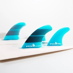 FCS2 フィン エフシーエス2 PERFORMER ネオグラス QUAD FINS Mサイズ クアッド フィン ショートボード用フィン 4本セット Neo Glass|standardstore