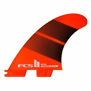 FCS2 フィン エフシーエス2 ACCELERATOR ネオグラス TRI FINS 3サイズ トライフィン ショートボード フィン 3本セット Neo Glass|standardstore
