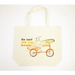 森-温(MORIHARU)× STANDARD STORE / ECO TOTE BAG / LARGE|standardstore