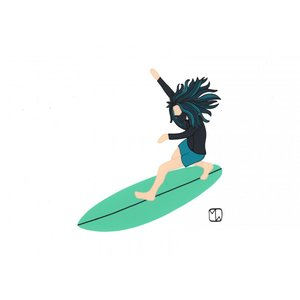 Matthew Wiggleworth / SURF CULTURE ART / Water Man|standardstore
