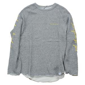 PIPPEN SUPPLY - SWEAT LONG T-SHIRT(GRAY)|standardstore