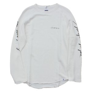 PIPPEN SUPPLY - SWEAT LONG T-SHIRT(OFF WHITE)|standardstore
